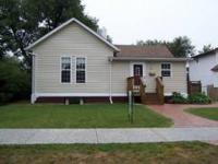 CUTE AS A BUTTON THREE BEDROOM HOME! ONE BATH, ENCLOSED