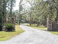 TWO beautiful homes sitting on 3.5 acres with 243' of