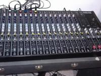 Electro-Voice: 1632 Stereo Mixer and other gear. Made