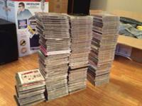 I'm selling 164 music CD's, all of them for $100.  They