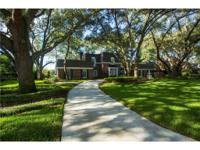 Beautiful, refined, brick estate home located in the