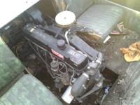 165 HP Mercruiser inboard from a 1972 Bonanza tri-hull,