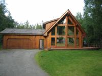 2200 sq ft home on 1 acre in North Wasilla, just off