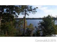 Waterfront lot in cul-de-sac, gentle slope in private