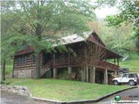225 +/- acres offered for sale! Stunning log home Built