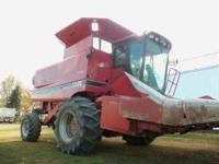 1979 ih 1680 combine 3790 hours on it, 1020 grain head