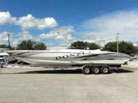 2007 Donzi 38 2007 Donzi 38 ZR Staggard is a high
