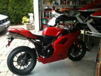 2011 Ducati Superbike 1198, Added Red and Black