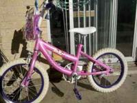 "Selling 16"" Barbie Princess Bike, it's in very good"