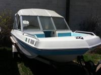 16' Chrysler Tri-hull open bow. 75hp Chrysler out