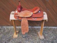"16"" Cutting Saddle - $350.00.  No Name is Shown on"