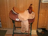 I have a new 16? Double T Barrel Racing saddle I have
