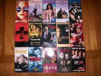 16 great movies on VHS all in good shape. $5.00 for