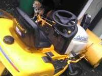 $1500 OR BEST OFFER 16 HP TWIN CYLINDER CUB CADET