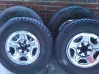 16 in Rims and Tires off of a Chevy Silverado $150.00