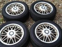 Up for sale are (4) OZ Racing wheels w/ Uniroyal Tiger