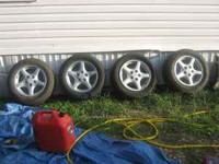 i have original firebird rims an tires for sale fits gm