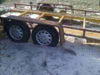 heavyduty axles/6 lug truck hubs , no ramps , no