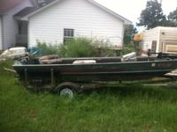 I have for sale an AlumaWeld 16ft fishing boat with a