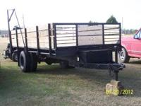 I have this Trailer with wooden sides, well built. If