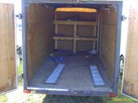 THIS IS A GOOD SOLID TRAILER 2 3500LB AXELS UNDER IT I