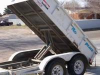 big tex 16ft dump trailer excellent shape call jessie