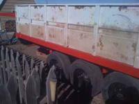 16ft Rywin triple axle hyd. dump trailer. This trailer