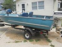 For Sale: 16 foot Browning aluminum fishing boat. Boat