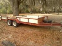 I have one 16ft Heavy Duty tandem axle trailer with