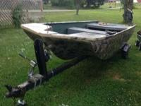 I have a 16ft fiber glass john boat with a 10hp motor