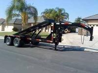 Rolloff Trailer can haul & dump 12ft, 14ft & 16ft long