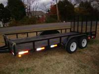 THIS IS A 2008 16 FT TRAILER THAT I PURCHASED ON JUNE