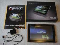 For sale is an Asus Transformer that is only a little