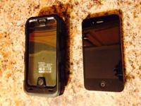 This is a super package deal! 16gig Black AT&T iPhone 4