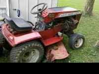i have for sale a 16hp koler wheel horse tractor with