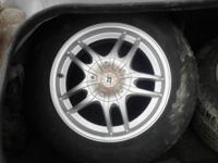wheels n tires r basicly bran new......was on my