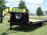 (888) 981-9668 ext.281 16k Gooseneck trailer 40 inch