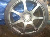 I have 2 sets of 16 inch 4x100 honda rims for trade (