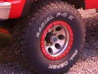 new they are mickey thompson beadlock rims. they are