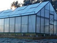 16x26 Poly Greenhouses by G-More  G-More Titan series