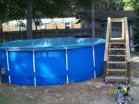 Get a jump on Spring! Includes pool, sand filter pump,