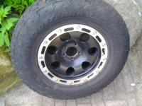 4- 16x8 - 4.625 B.S. Eagle Alloy 137 Wheels - tires are