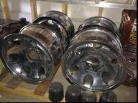 These are a set of used ultra chrome rims they are 16x8