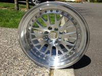 brand new ccw classic reps in 16x9 +15 offset with high