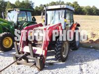 2004 Massey-Ferguson 471 w/Massey-Ferguson 1050 loader.