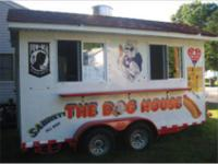 HOT DOG TRAILER - $17000 (ANDOVER) Hot Dog/Concession