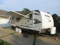This listing is for a 2010 Keystone Outback Travel
