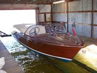 Please call owner Charles at . Boat is on Grand Lake,
