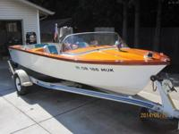 Please call owner Ron at  or . Boat is in Milwaukie,