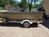 Please call owner Craig at . Boat is in Mitchell, South